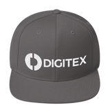 Digitex / DGTX WLH Snapback Hat-Dark Grey- Crypto & Proud