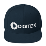 Digitex / DGTX WLH Snapback Hat-Dark Navy- Crypto & Proud