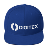 Digitex / DGTX WLH Snapback Hat-Royal Blue- Crypto & Proud