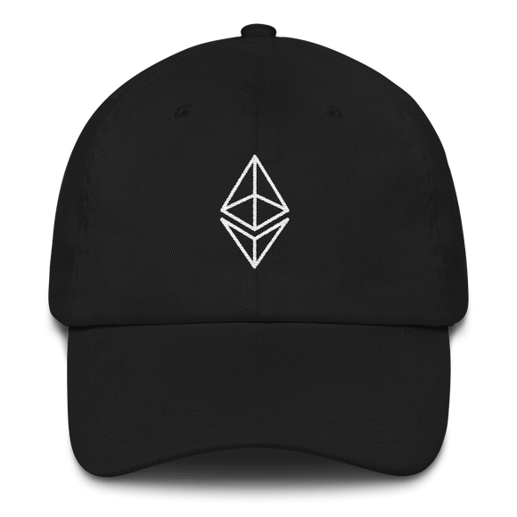 Ethereum/ ETH OW Classic Hat-Black- Crypto & Proud