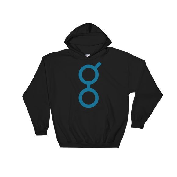 Golem / GNT C Heavy Blend Hoodie-Black- Crypto & Proud