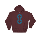 Golem / GNT OC Heavy Blend Hoodie-Maroon- Crypto & Proud