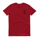 Golem / GNT OSB T-Shirt Premium-Independence Red- Crypto & Proud