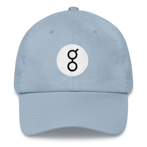 Golem / GNT RB Classic Hat-Light Blue- Crypto & Proud