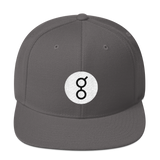 Golem / GNT RB Snapback Wool Blend Hat-Dark Grey- Crypto & Proud
