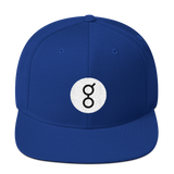 Golem / GNT RB Snapback Wool Blend Hat-Royal Blue- Crypto & Proud