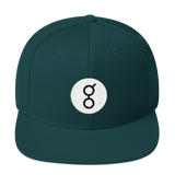 Golem / GNT RB Snapback Wool Blend Hat-Spruce- Crypto & Proud