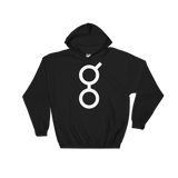 Golem / GNT W Heavy Blend Hoodie-Black- Crypto & Proud