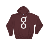 Golem / GNT W Heavy Blend Hoodie-Maroon- Crypto & Proud