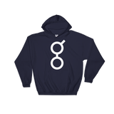 Golem / GNT W Heavy Blend Hoodie-Navy- Crypto & Proud