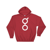 Golem / GNT W Heavy Blend Hoodie-Red- Crypto & Proud