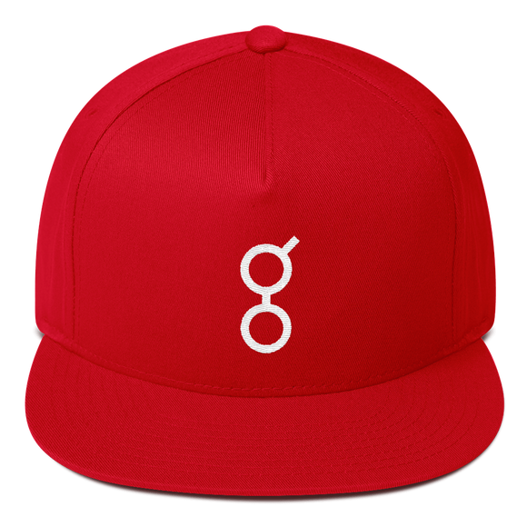 Golem / GNT W Snapback Hat-Red- Crypto & Proud