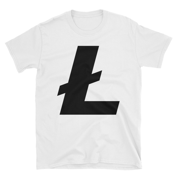 Litecoin / LTC B Softstyle T-Shirt-S- Crypto & Proud