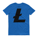 Litecoin / LTC B T-Shirt Premium-Royal Blue- Crypto & Proud