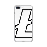 Litecoin / LTC OBW iPhone Case-iPhone 7 Plus/8 Plus- Crypto & Proud