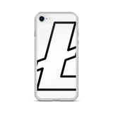 Litecoin / LTC OBW iPhone Case-iPhone 7/8- Crypto & Proud