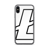 Litecoin / LTC OBW iPhone Case-iPhone X- Crypto & Proud