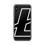 Litecoin / LTC OWB iPhone Case-iPhone X- Crypto & Proud