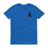Litecoin / LTC SB T-Shirt Premium-Royal Blue- Crypto & Proud
