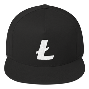 Litecoin / LTC W Snapback Hat-Red- Crypto & Proud