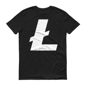 Litecoin / LTC W T-Shirt Premium-Independence Red- Crypto & Proud