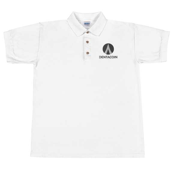 Dentacoin / DCN BL Polo   - Crypto & Proud