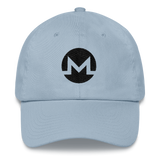 Monero / XMR B Classic Hat-Light Blue- Crypto & Proud