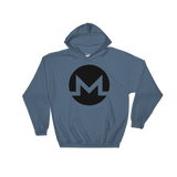 Monero / XMR B Heavy Blend Hoodie-Indigo Blue- Crypto & Proud