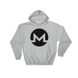 Monero / XMR B Heavy Blend Hoodie-Sport Grey- Crypto & Proud