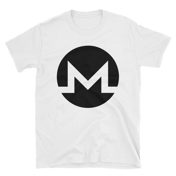 Monero / XMR B Softstyle T-Shirt-S- Crypto & Proud