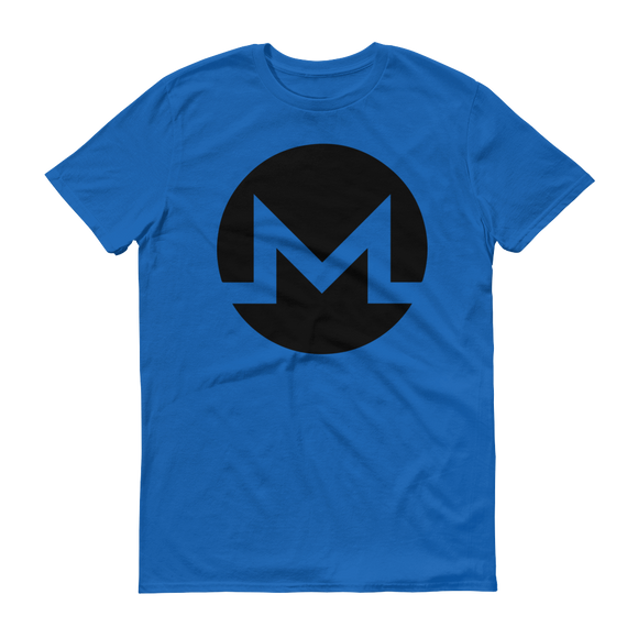 Monero / XMR B T-Shirt Premium-Royal Blue- Crypto & Proud