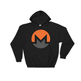 Monero / XMR C Heavy Blend Hoodie-Black- Crypto & Proud