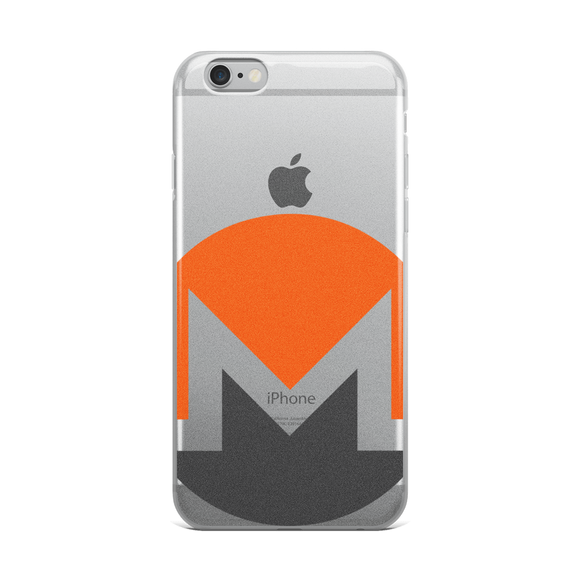 Monero / XMR C iPhone Case-iPhone 6 Plus/6s Plus- Crypto & Proud