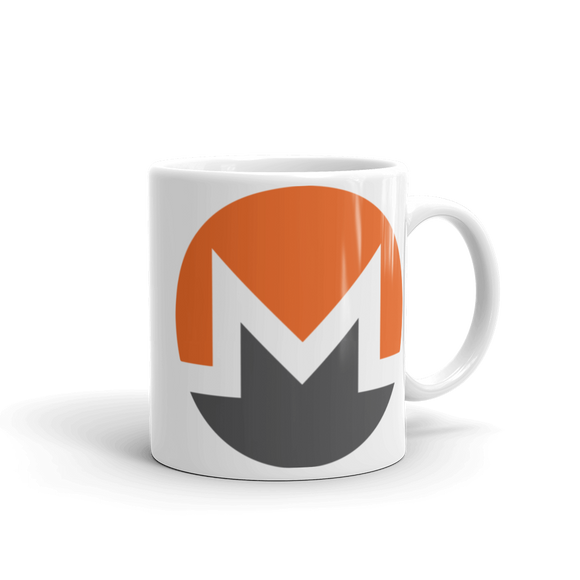 Monero / XMR C Mug-11oz- Crypto & Proud