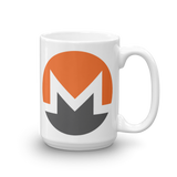 Monero / XMR C Mug-15oz- Crypto & Proud