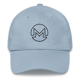 Monero / XMR OB Classic Hat-Light Blue- Crypto & Proud