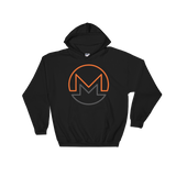 Monero / XMR OC Heavy Blend Hoodie-Black- Crypto & Proud