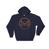 Monero / XMR OC Heavy Blend Hoodie-Navy- Crypto & Proud