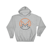 Monero / XMR OC Heavy Blend Hoodie-Sport Grey- Crypto & Proud