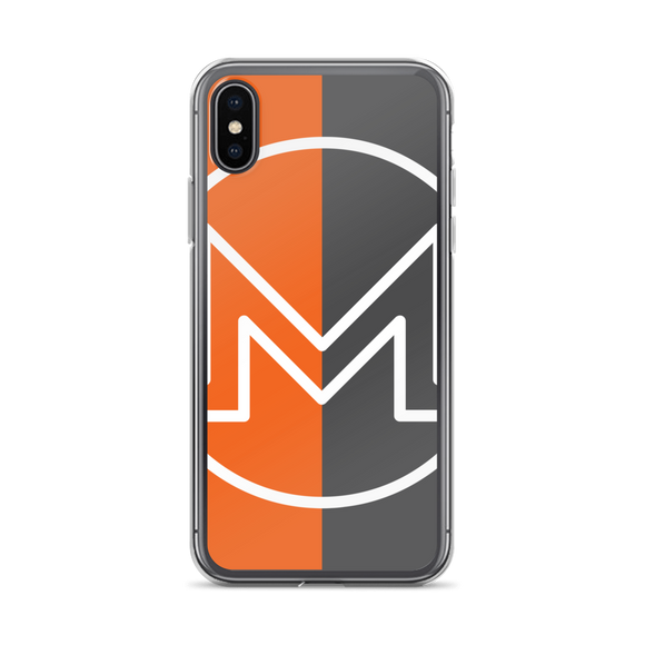 Monero / XMR OCW iPhone Case-iPhone X- Crypto & Proud