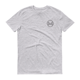 Monero / XMR OSB T-Shirt Premium-Heather Grey- Crypto & Proud