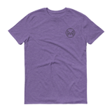 Monero / XMR OSB T-Shirt Premium-Heather Purple- Crypto & Proud