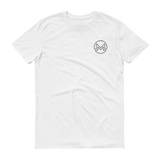 Monero / XMR OSB T-Shirt Premium-White- Crypto & Proud