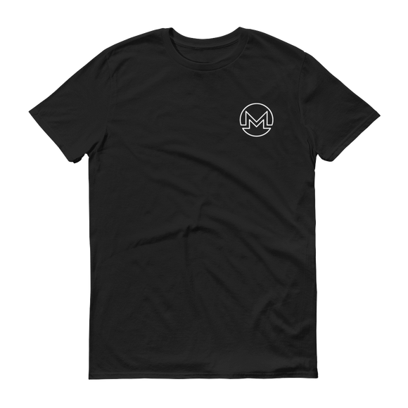 Monero / XMR OSW T-Shirt Premium-Black- Crypto & Proud
