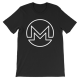 Monero / XMR OW T-Shirt Premium-Black- Crypto & Proud