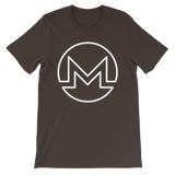 Monero / XMR OW T-Shirt Premium-Brown- Crypto & Proud