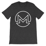 Monero / XMR OW T-Shirt Premium-Dark Grey Heather- Crypto & Proud