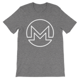 Monero / XMR OW T-Shirt Premium-Deep Heather- Crypto & Proud