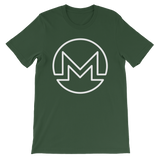 Monero / XMR OW T-Shirt Premium-Forest- Crypto & Proud