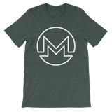Monero / XMR OW T-Shirt Premium-Heather Forest- Crypto & Proud